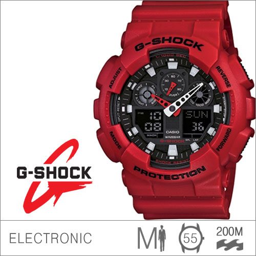 G-ShockGA-100B-4ADR