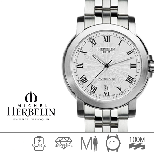 1680/08B MICHEL HERBELIN (쿼츠/41mm) [판매처 A/S보증]