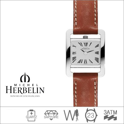 17037/01GO MICHEL HERBELIN (쿼츠/23mm) [판매처 A/S보증]