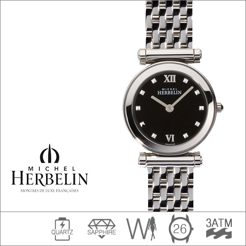 17155/B14 MICHEL HERBELIN (쿼츠/26mm) [판매처 A/S보증]
