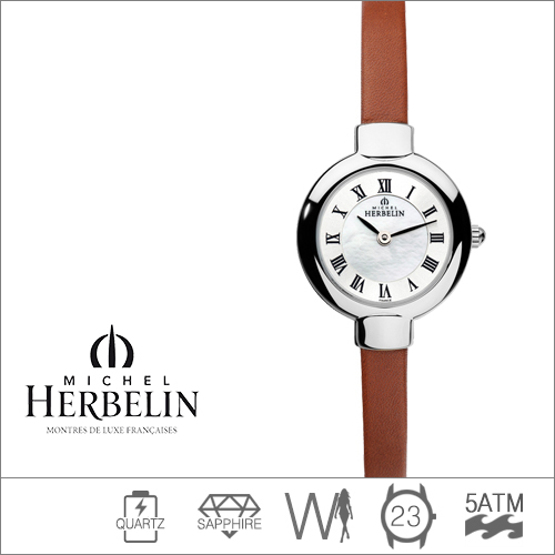 17410/29GO MICHEL HERBELIN (쿼츠/23mm) [판매처 A/S보증]
