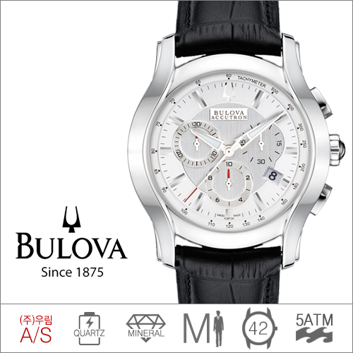 63B138 BULOVA (쿼츠/42mm) [판매처 A/S보증]