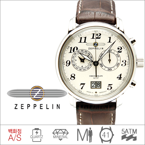 7684-5 (쿼츠) Zeppelin 7684-5 LZ127 Count Zeppelin [전국 백화점 A/S보증]