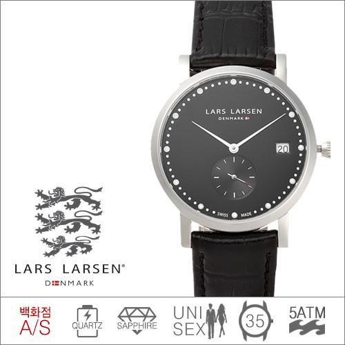 Emma137SBBL  LARS LARSEN (쿼츠/35mm) [전국 백화점 A/S보증]