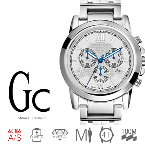 I41008G1 GUESS COLLECTION (쿼츠/41mm) [판매처 A/S보증]