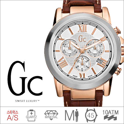 I41501G1 GUESS COLLECTION (쿼츠/45mm) [판매처 A/S보증]