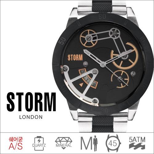 MEXO BLACK STORM (쿼츠/45mm) [판매처 A/S보증]