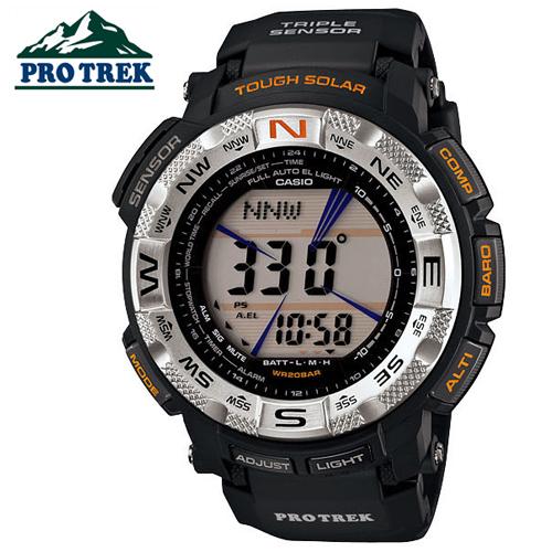PRG-260-1D CASIO PROTREK (쿼츠/51mm) [판매처 A/S보증]