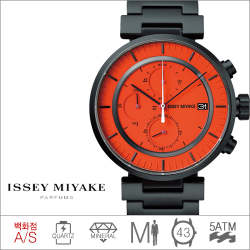 SILAY005 ISSEY MIYAKE (쿼츠/43mm) [전국 백화점 A/S보증]