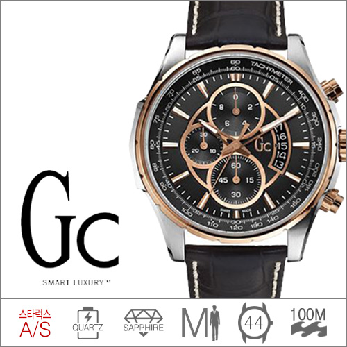 X81007G2S GUESS COLLECTION (쿼츠/44mm) [판매처 A/S보증]