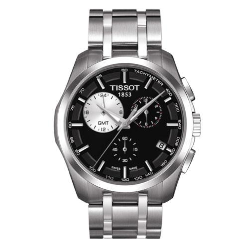 [한국본사정품/백화점AS] T035.439.11.051.00 COUTURIER GMT (쿼츠/41mm)