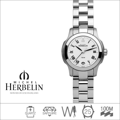 12839/B01 MICHEL HERBELIN (쿼츠/25mm) [판매처 A/S보증]