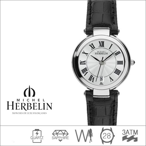14263/08 MICHEL HERBELIN (쿼츠/28mm) [판매처 A/S보증]