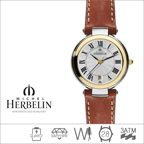 14263/T08GO MICHEL HERBELIN (쿼츠/28mm) [판매처 A/S보증]