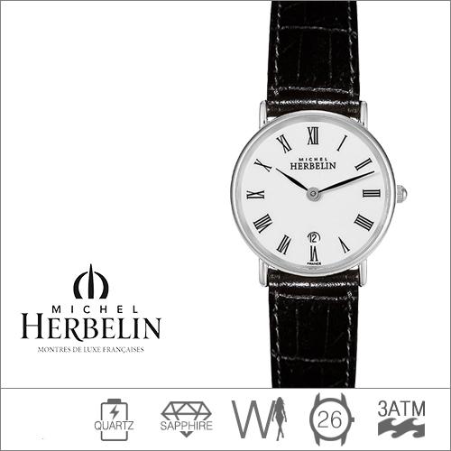 16845/S01 MICHEL HERBELIN (쿼츠/26mm) [판매처 A/S보증]
