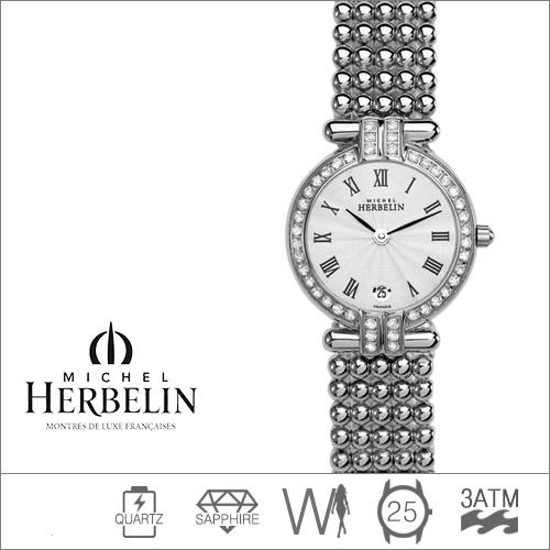 16873/44XB08 MICHEL HERBELIN (쿼츠/25mm) [판매처 A/S보증]