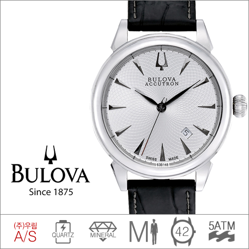 63B148 BULOVA (쿼츠/42mm) [판매처 A/S보증]
