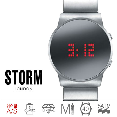 AMBITION MIRROR STORM (쿼츠/40mm) [판매처 A/S보증]