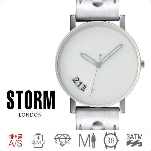 BLAST XL WHITE STORM (쿼츠/38mm) [판매처 A/S보증]