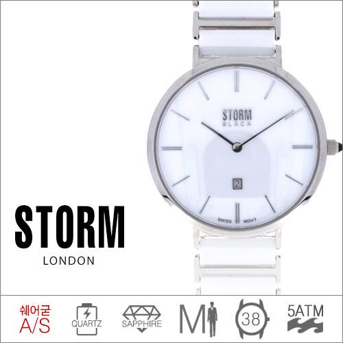 LEX WHITE STORM (쿼츠/38mm) [판매처 A/S보증]
