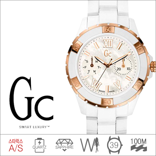 X69003L1S GUESS COLLECTION (쿼츠/39mm) [판매처 A/S보증]