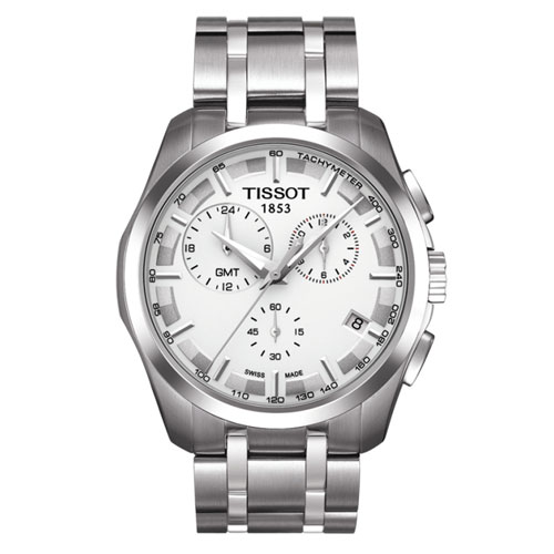 [한국본사정품/백화점AS] 당일발송 T035.439.11.031.00 Couturier GMT 꾸뜨리에 (쿼츠:41mm)